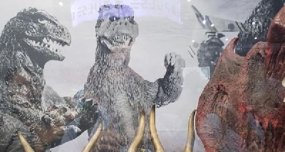 Images of the TOHO Godzilla booth at SDCC 2019 have surfaced online!
