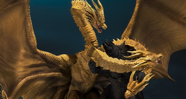 S.H.Monsterarts King Ghidorah and Godzilla 2019 Images Revealed!