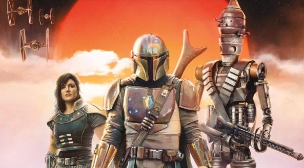 2 new posters for The Mandalorian unveiled!