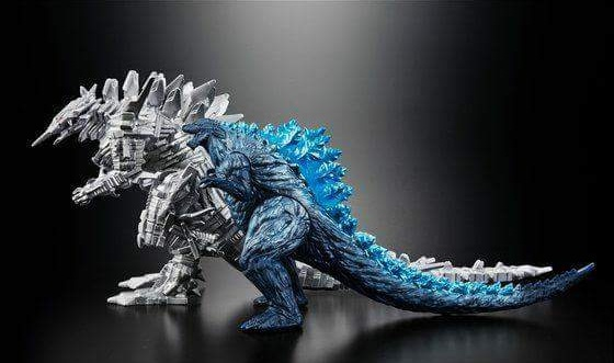 A clearer look at MechaGodzilla from the Godzilla anime sequel!