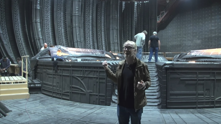 Adam Savage Alien: Covenant Set Visit Video!
