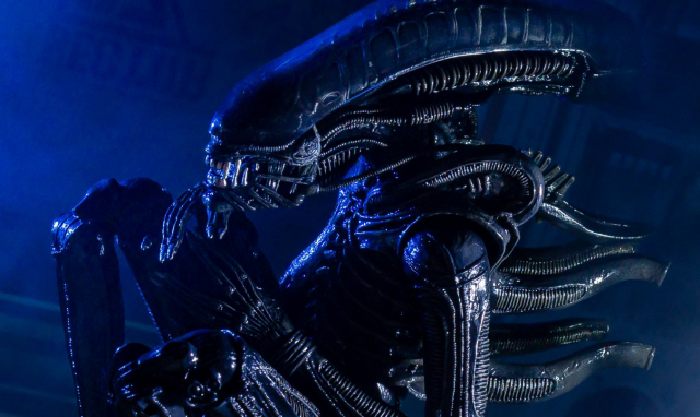 Advanced look at NECA Alien 40th Anniversary Ultimate Big Chap Alien Figure!