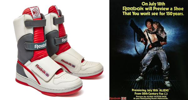 Aliens: The Mythical Reebok Shoes Scene