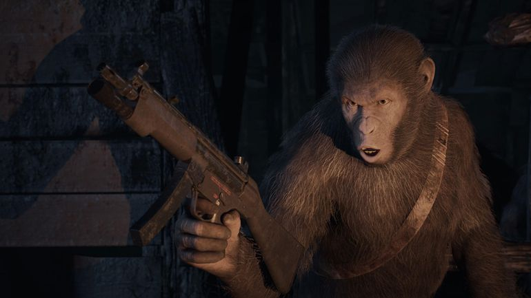Andy Serkis Talks Planet of the Apes: Last Frontier Video Game