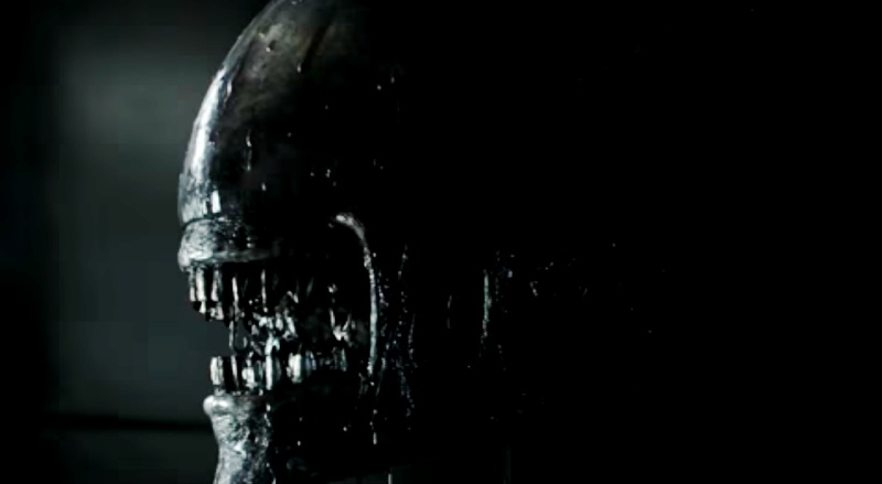 Awesome new footage shown in latest Alien: Covenant TV spot!