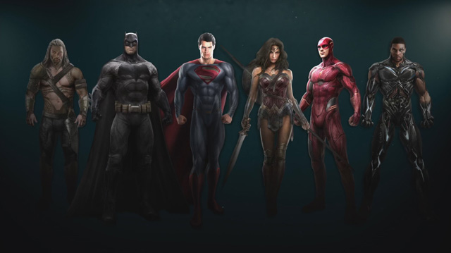 Awesome new Justice League concept art