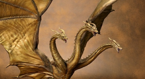 Awesome New King Ghidorah 2019 Figure