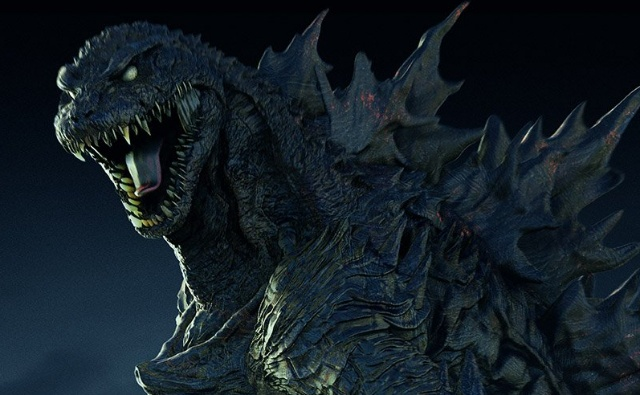 Behold Godaiju - A blend of Godzilla 2014, Shin-Gojira and GMK!