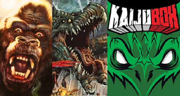 Boxes, Epics, and Kong... Oh My!  Two Kaiju Kickstarters (and One Indiegogo) Need Your Help!
