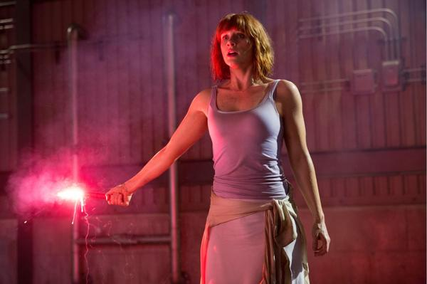 Bryce Dallas Howard marks the start of filming of Jurassic World 2 with a set picture!