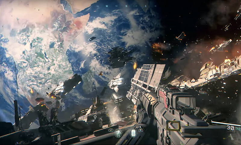 Call of Duty: Infinite Warfare's Launch Trailer Takes The Battle Beyond The Stars