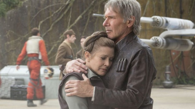 Carrie Fisher filmed scenes for Star Wars Episode 8 prior to her death