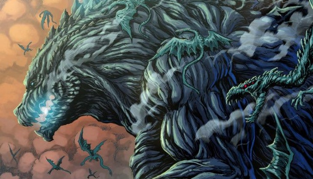 Check out Matt Frank's Godzilla: Planet of the Monsters artwork!