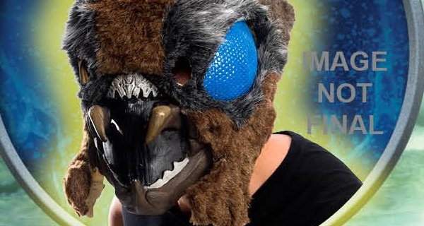 Check out this nightmare-inducing Mothra Halloween mask!