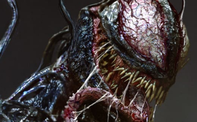 Crazy early official concept art for Venom would have induced nightmares!