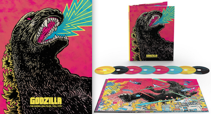Criterion Announces Godzilla: The Showa Era Set!