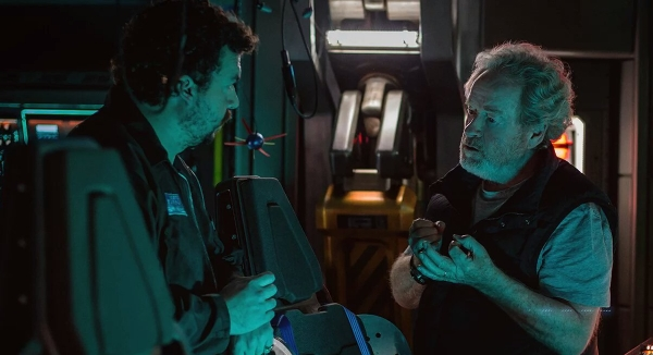Danny McBride confirms he is the pilot of the Covenant in Ridley Scott's Prometheus sequel!