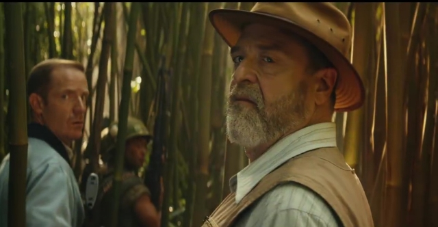 Did John Goodman just confirm his character works for MONARCH in Kong: Skull Island?!
