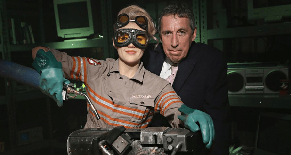 Director Ivan Reitman announces more Ghostbusters!