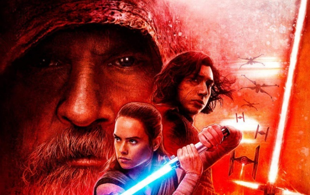 Dolby Cinema release their own Star Wars: The Last Jedi poster!