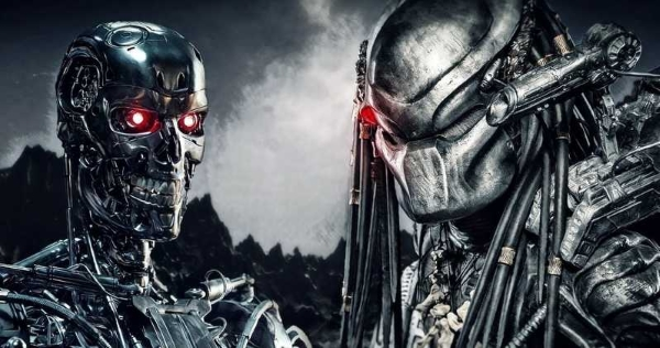 Drawing Connections between Predator and Terminator Universes