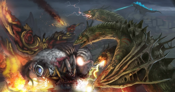 Enjoy some phenomenal Godzilla fan art!