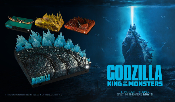 Enter to WIN a Godzilla: King of the Monsters themed Xbox One X!