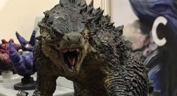 Epic Godzilla 2014 Sculpture by Sean Chong!