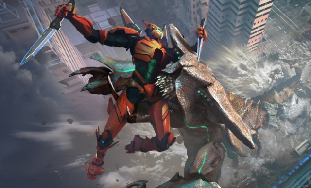 Epic Jaeger and Kaiju concept art from Pacific Rim Uprising!