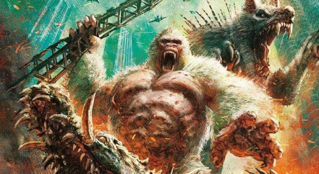 Epic Rampage movie Japanese poster debuts!