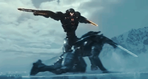 EXCLUSIVE: Pacific Rim Uprising Rogue Jaeger Obsidian Fury!
