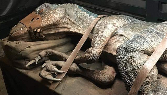 Expect even more practical Dinosaur effects in Jurassic World 3!