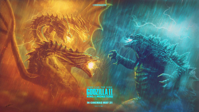 Fan Art Spotlight: Godzilla 2 King of the Monsters April 2019