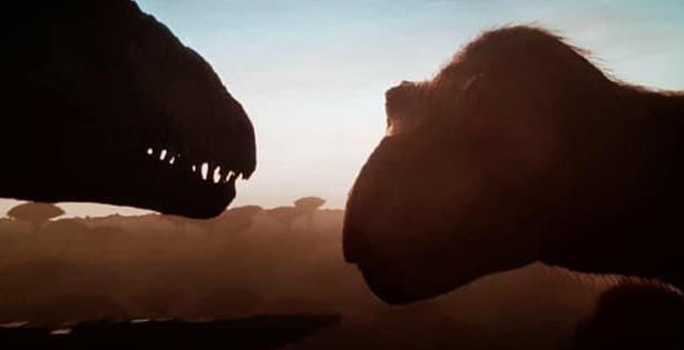 Feathered T-Rex! Pictures of the Jurassic World Dominion F9 preview footage have leaked online!