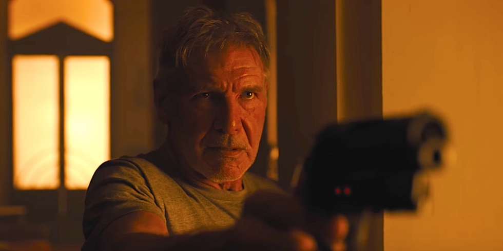 Harrison Ford in una scena di Blade Runner 2049