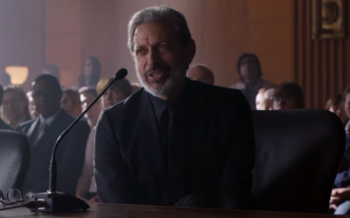 First look at Jeff Goldblum in Jurassic World: Fallen Kingdom!