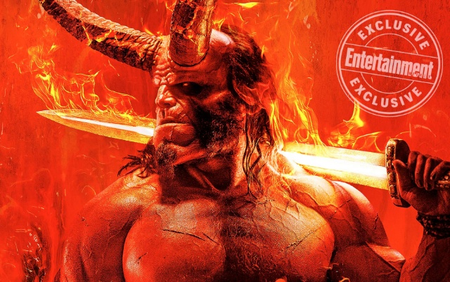 First look at new Hellboy (2019) movie poster!