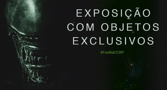 Fox debuting Alien: Covenant props at Comic Con Experience tomorrow!