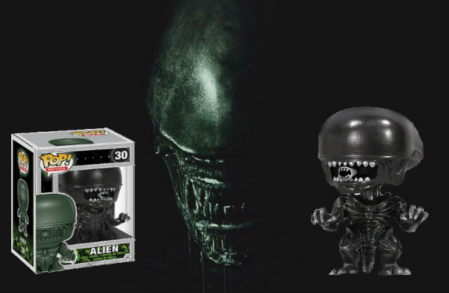 Funko will release Alien Covenant Pops in 2017!