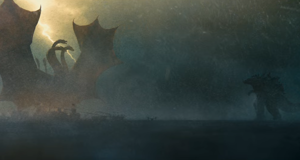 Godzilla & King Ghidorah charge each other in New King of the Monsters Trailer!