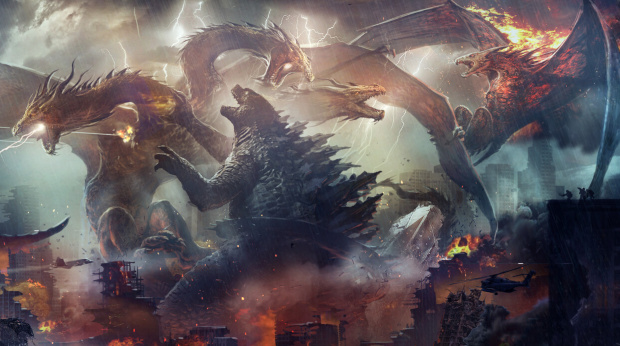 Godzilla 2: King of the Monsters concept art by WETA Workshop