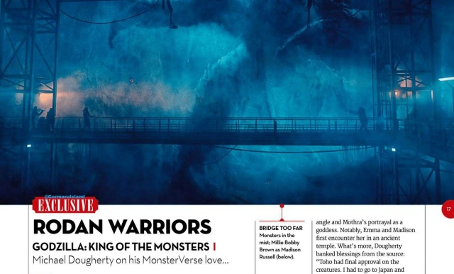 Godzilla 2 King of the Monsters plot details revealed in Total Film magazine scan!
