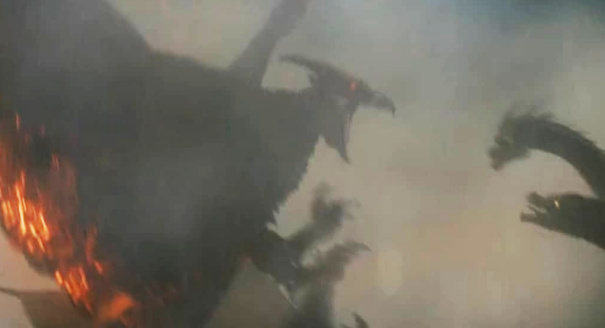 Godzilla 2: KOTM Chinese Featurette debuts NEW movie footage!