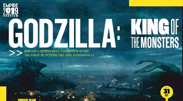 Godzilla 2: KOTM featured in Empire and Total Film magazines! Scans now available!
