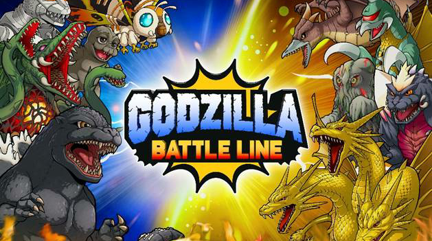 Godzilla Battle Line Game Press Release: Gameplay Images, Video and Pre-Registration!
