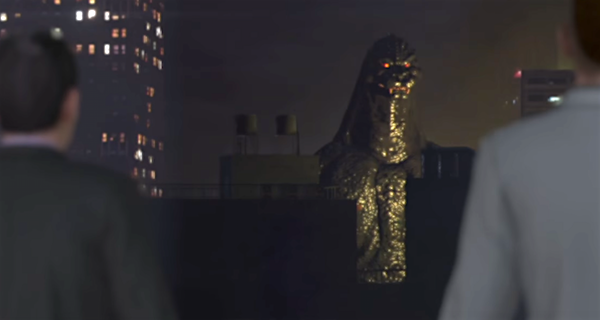 Godzilla, Gamera & Ultraman Arrive in City Shrouded in Shadow Trailer