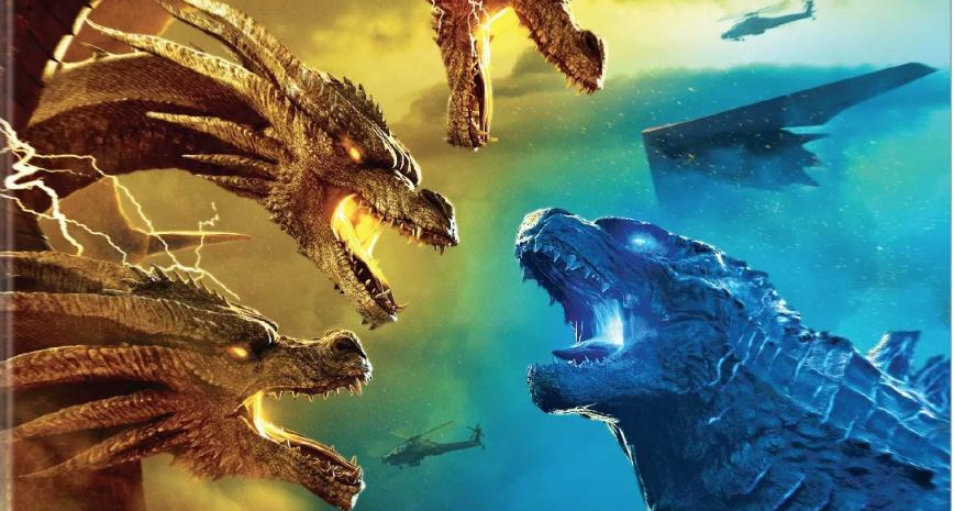 Godzilla: King of the Monsters Blu Ray/DVD Covers Revealed.