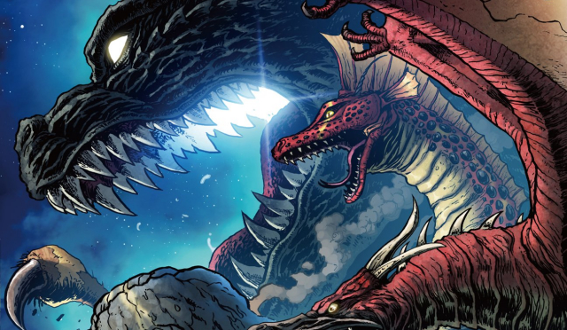 Godzilla: Legends anthology comic releasing this weekend!