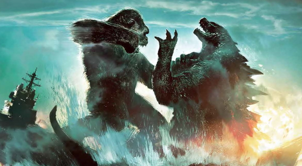 Godzilla vs. Kong: One Will Fall: The Art of the Ultimate Battle Royale (KING KONG) Preview!