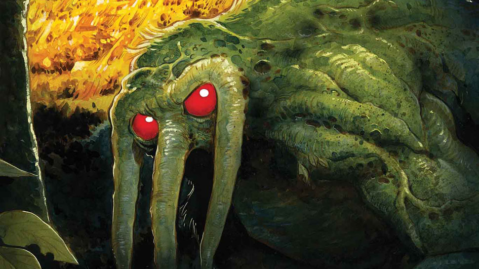 Goosebumps Author R. L. Stine Writing Marvel's New Man-Thing Comic Series